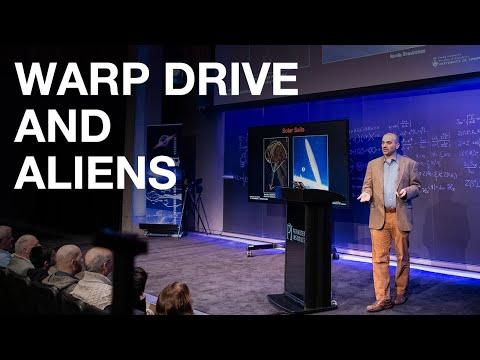 Warp Drive and Aliens: Bryan Gaensler Public Lecture
