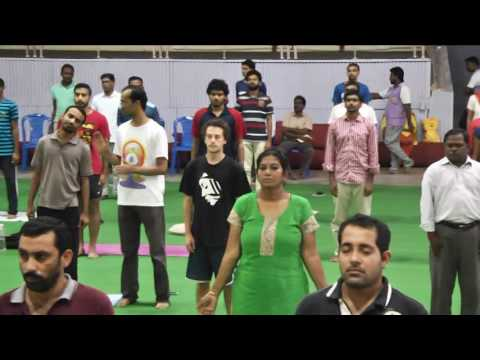 International Day of Yoga 2016 || IIT Madras -Part 5/9 - Asanas by Katyayini Reddy