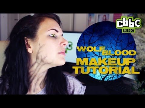 Wolfblood Halloween Makeup Tutorial with Cherry on CBBC