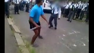 Repeat youtube video Secondary school pupils resort to carrying weapons