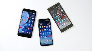 HTC U11 vs. Samsung Galaxy S8 vs. Sony Xperia XZ Premium: Benchmark | SwagTab