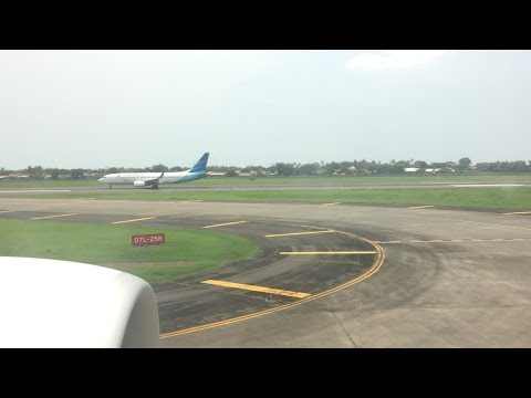 Jakarta To Jeddah TakeOff   Garuda Indonesia B777-300ER
