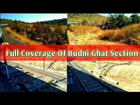 onboard in 12687 Madurai - Chandigarh Express  full Coverage Of Itarsi Budni Ghat section
