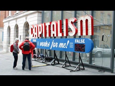 Captialism Works for Me! True/False - Old Spitalfields Market, London, 3 June 2015