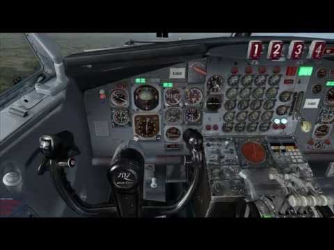 Captain Sim Lufthansa Boeing 707 Multi Crewed Experience! Zurich to Dusseldorf!