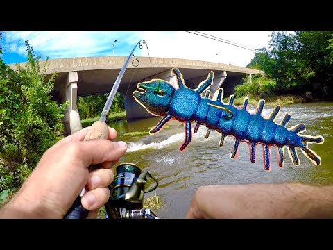 Fishing With Hellgrammite Lures