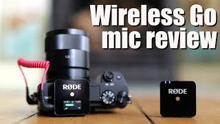 RODE Wireless Go review - BEST BUDGET wireless microphone!