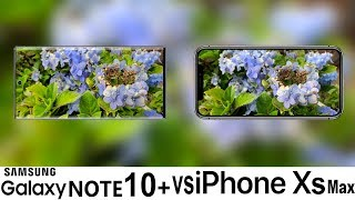 Samsung Galaxy Note 10+ Vs iPhone XS Max Camera Test