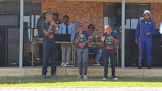 THE HAPPINESS MUSIC GROUP -  LIVE AT UBUHLE BUZILE S.  SCHOOL
