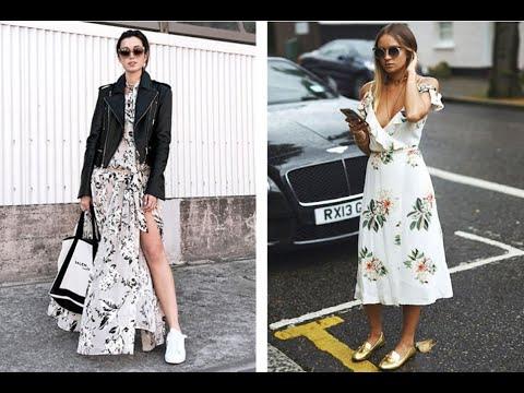 Платья в цветочек -на пике моды 2019 !!!-The Flowered Dress Is At The Height Of Fashion 2019 !!!-