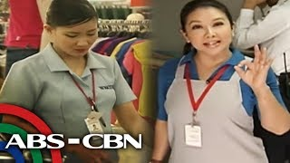 Duty ala-Sales Lady! Korina as a Sales Lady | Rated K