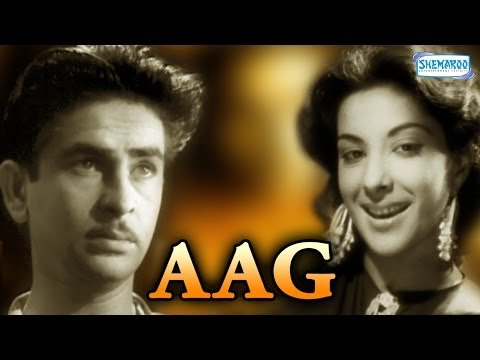 Aag (1948) (HD) - Hindi Full Movie - Raj Kapoor, Nargis - Bollywood Hit Movies - With Eng Subtitles