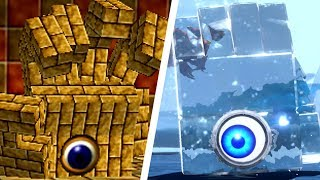 Evolution of Eyerok Battles in Mario Games (1996 - 2018)