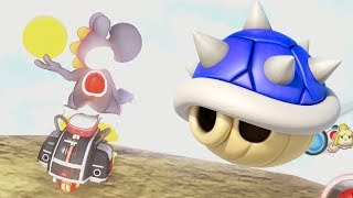 Mario Kart 8 Deluxe Blue Shell Montage 7