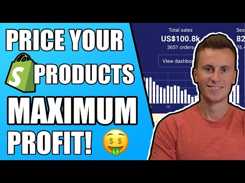 How To Price Your Products For Maximum Profit | Shopify Dropshipping thumbnail