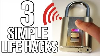 3 simple & fun life hacks
