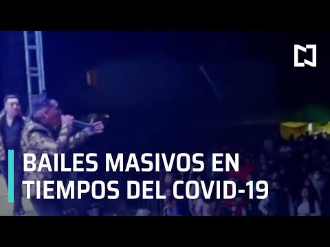 Bailes masivos en el Estado de México en tiempos del Covid-19 - En Punto