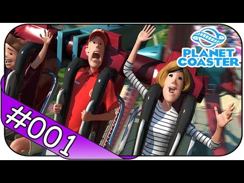 Planet Coaster # 1 ► Früher Vogel im Freizeitpark ☯ Let's Play Planet Coaster