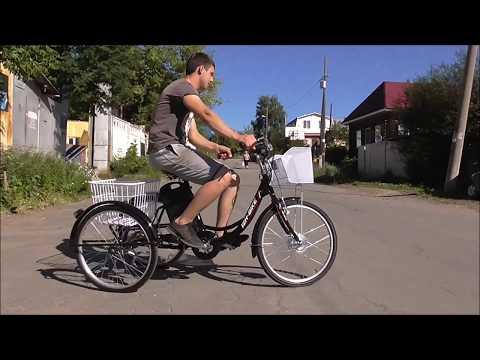 Велосипед электрический трехколесный Ижбайк Фермер