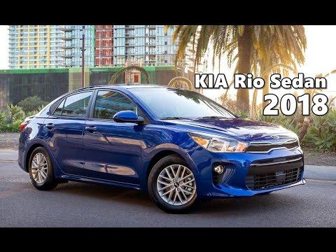 Kia Rio 2017 Interior >> 2018 KIA Rio Sedan (All-New) Driving, Exterior, Interior - YouTube