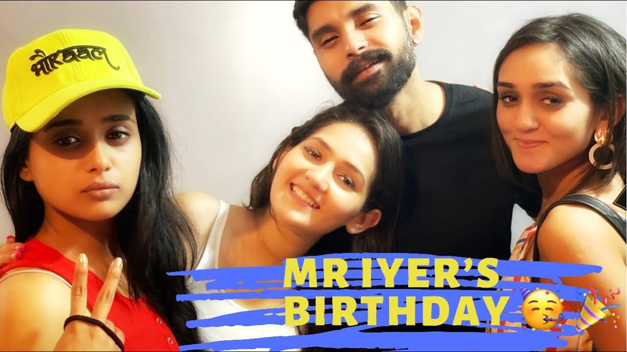 Radhika celebrated Mr Iyer's Birthday with Sasural simar ka -2 team 🎉😍 #sasuralsimarka2 #radhika