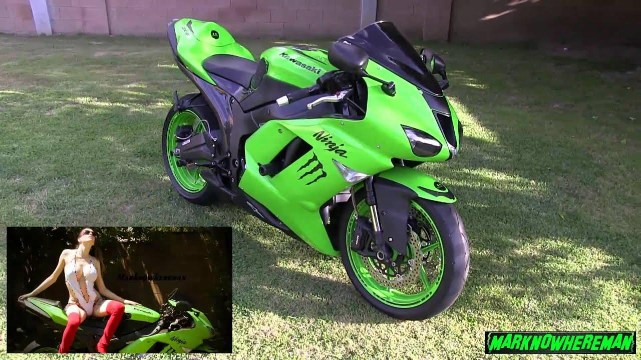 Kawasaki Ninja Red Green