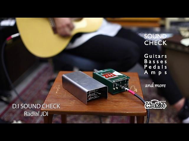 Pueblo Audio/OLLAとRadial/JDIのサウンド比較。どちらも素晴らしいD.Iです。