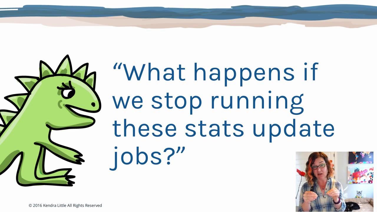 update statistics sql server