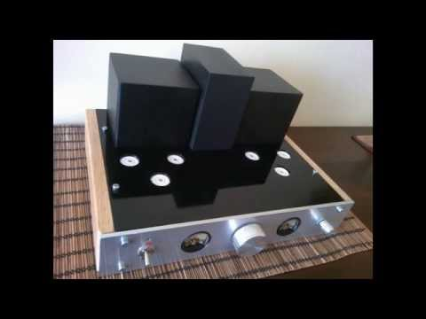 Wzmacniacz lampowy audio EL84 PP (amplifiers vacuum tube)