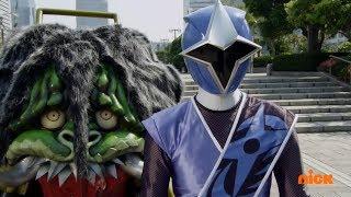 Power Rangers Super Ninja Steel - Power Rangers vs Evil Blue Ranger Episode 5 Game Plan