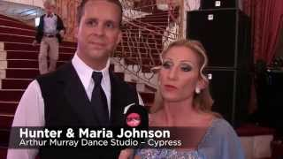 Show von Hunter & Maria Johnson | WALTZ DARLING | Arthur Murray – Austria