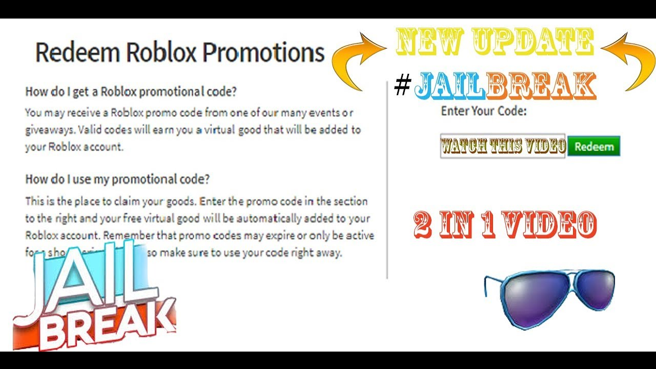 New Jailbreak Race track (easiest way) & New Promo code in Roblox (2 in 1)