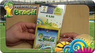 Panini Fifa World Cup Brasil 2014 BLISTER 11 Päckchen Unboxing (FAIL)