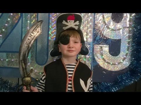 Вопрос: Как нарядиться пиратом?