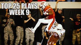 College Football Top 25 Plays 2018-19    Week 9 ᴴᴰ