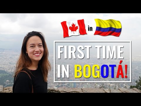 First Time in Bogota!   Colombia Vlog 1