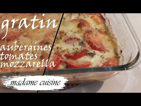 ~~~-la-recette-du-gratin-d'aubergines-~~~-tomate-mozzarella-recette-facile-et-rapide