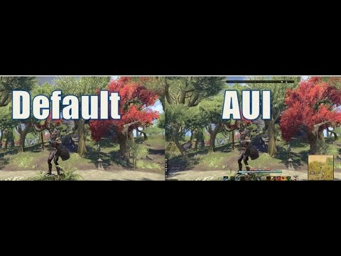 Advance User Interface Addon for The Elder Scrolls Online