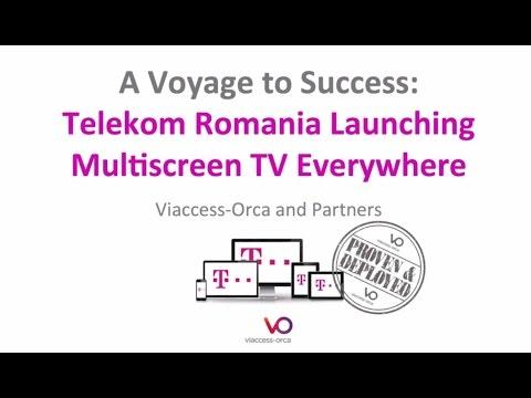 Telekom Romania Launching Multiscreen TV Everywhere - 2014