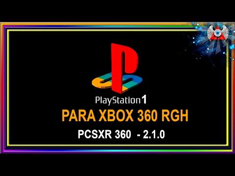 Como instalar Emulador de PS1 • [ PCSXR 360-2.1.0  ] • No Xbox 360 RGH
