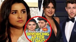 Parineeti Chopra REACTS On DIVORCE Rumors Of Priyanka Chopra And Nick Jonas!