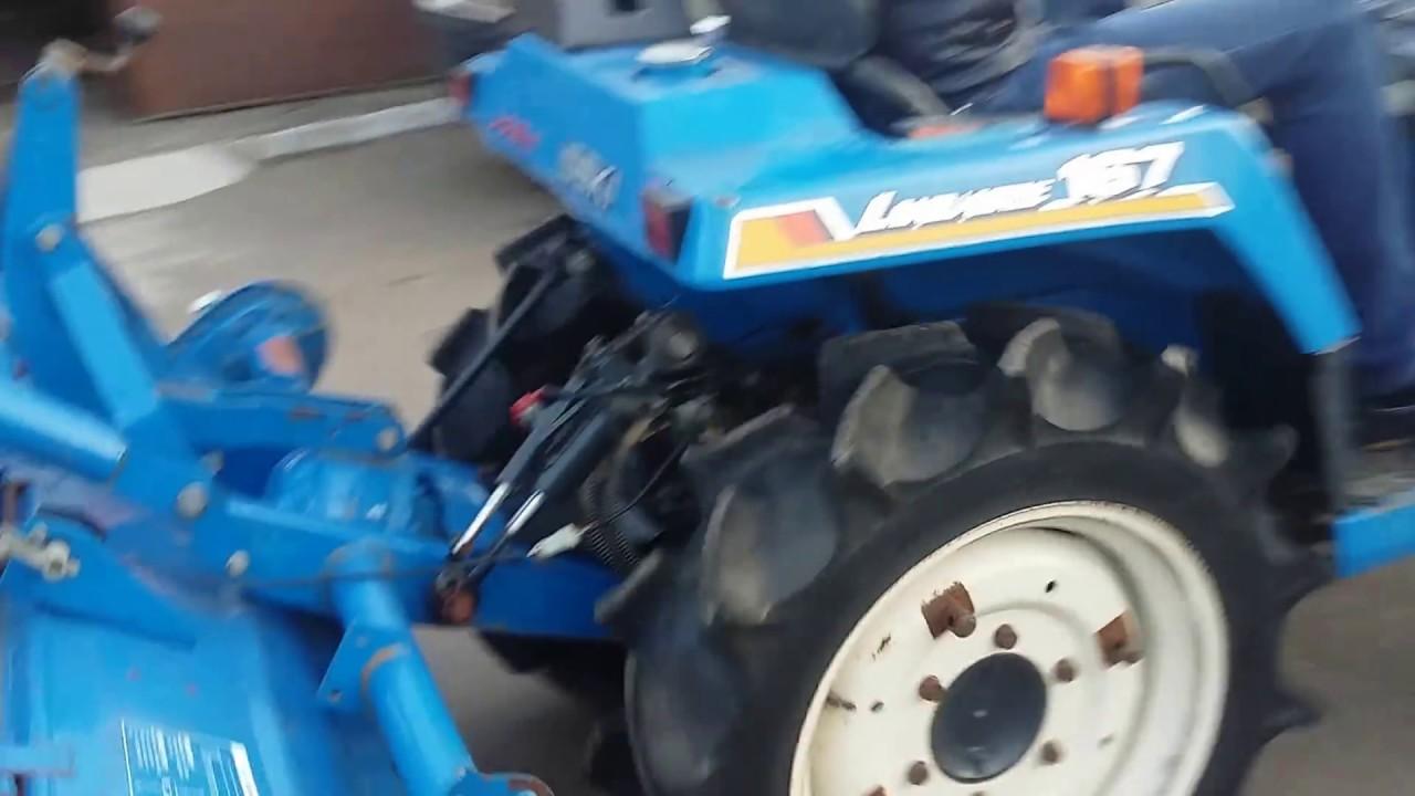 Японский мини-трактор Iseki Tu167 в Одессе - YouTube