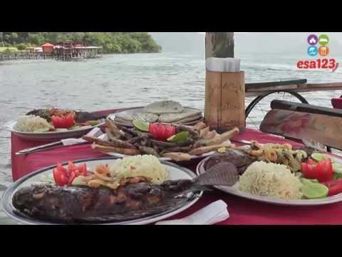 Tour por el Lago de Coatepeque en El Salvador, Centroamérica.