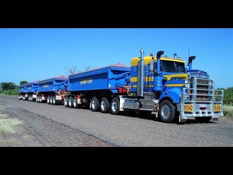 Road Trains At Wyndham Western Australia May 2011