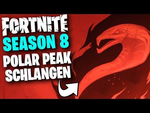 Polar Peak Eier! - der 2te Teaser! für Fortnite Season 8 | Deutsch