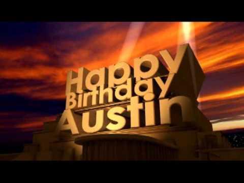 Happy Birthday Austin YouTube