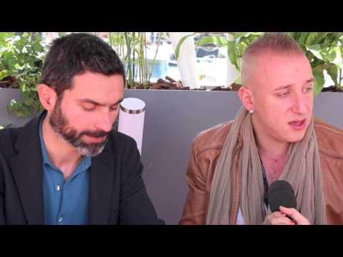 Interview De Basil Da Cunha Et Kaveh Bakhtiari Dans Le Cadre Du Festival De Cannes 2013.