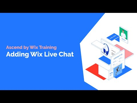 How To Add Wix Live Chat To Your Website | Ascend By Wix Tutorial