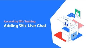 How To Add Wix Live Chat To Your Website   Ascend by Wix Tutorial