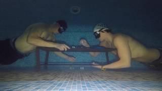 видео Столько нужно, чтобы научиться погружаться без акваланга на глубину 30 метров